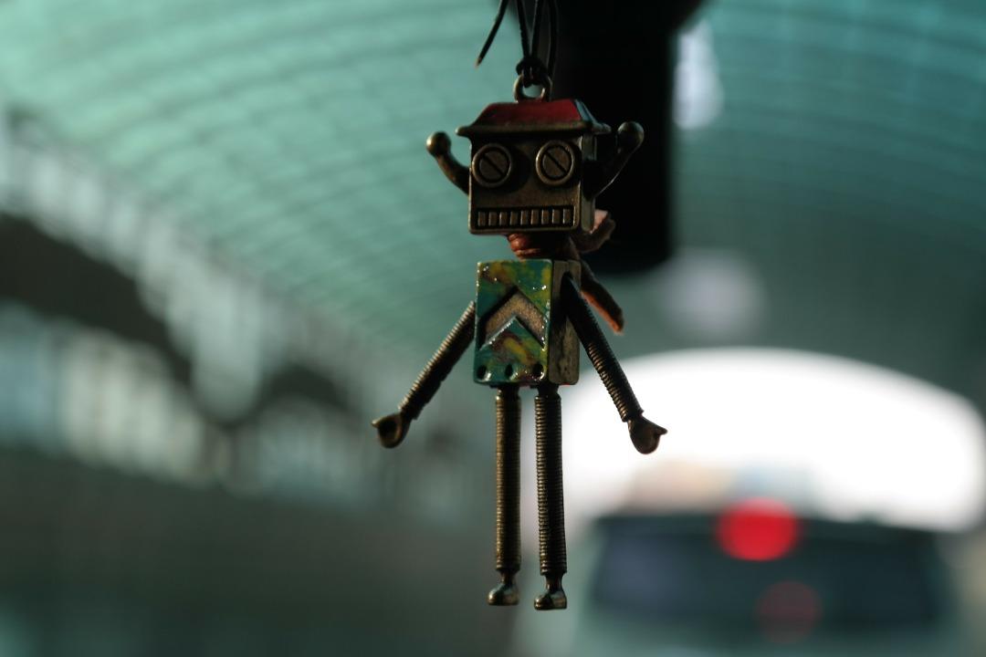 Robot Keychain