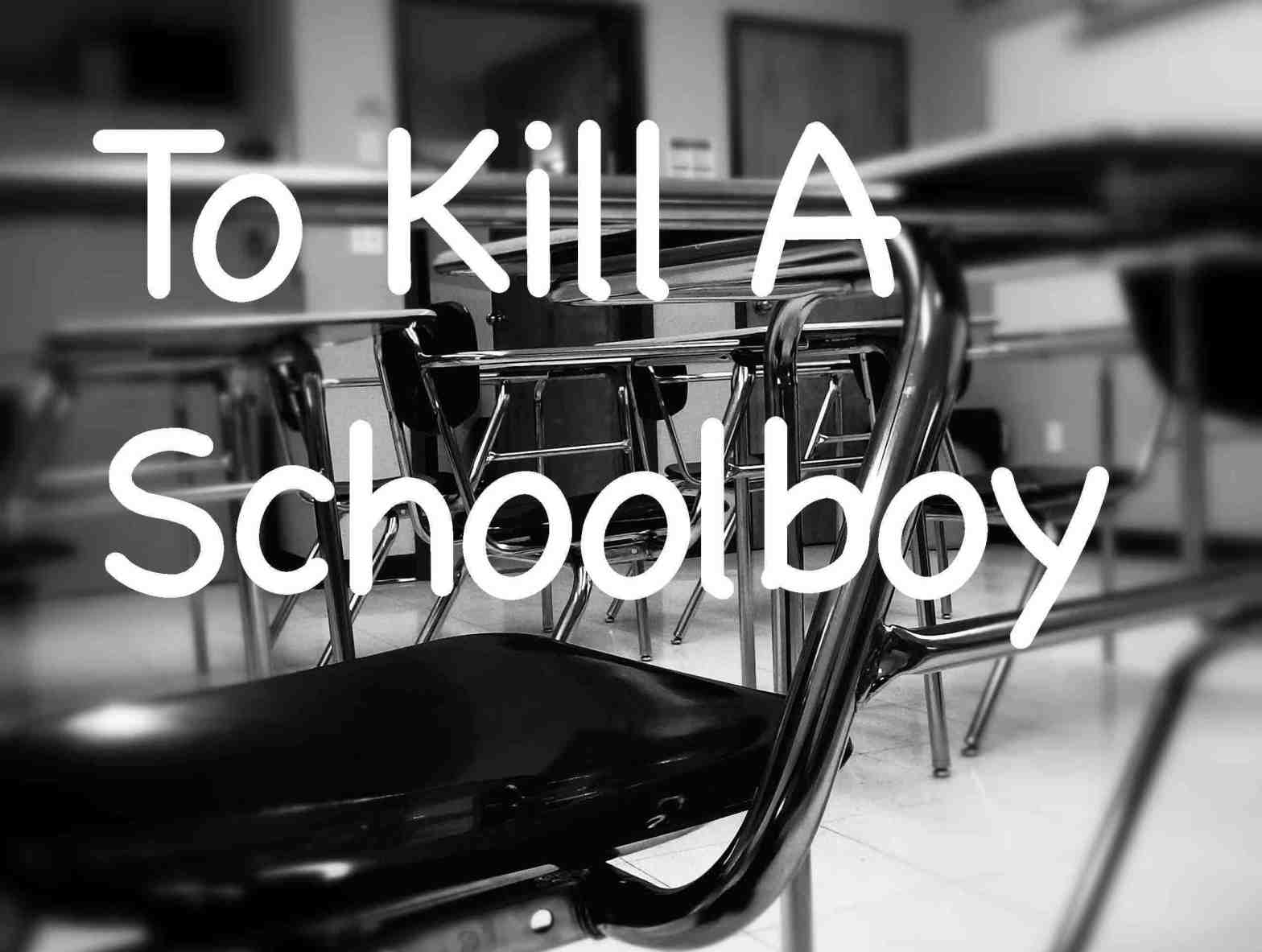 To Kill A Schoolboy Cover