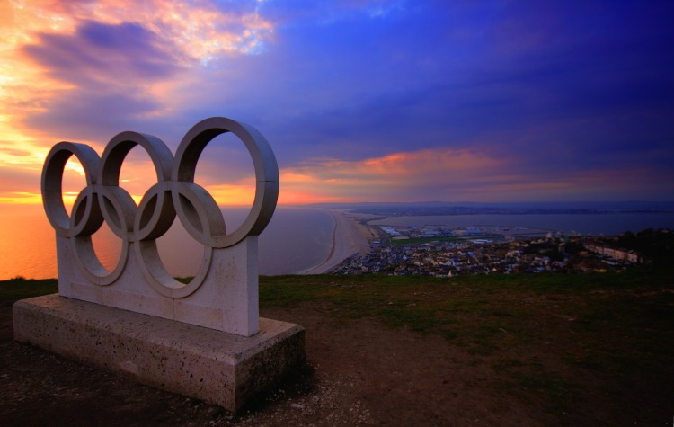 Olympic Rings in Portland