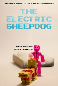 The Electric Sheepdog Poster