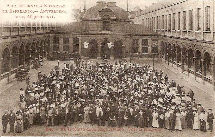 The 7th Esperanto Congress in Antwerp, August 1911