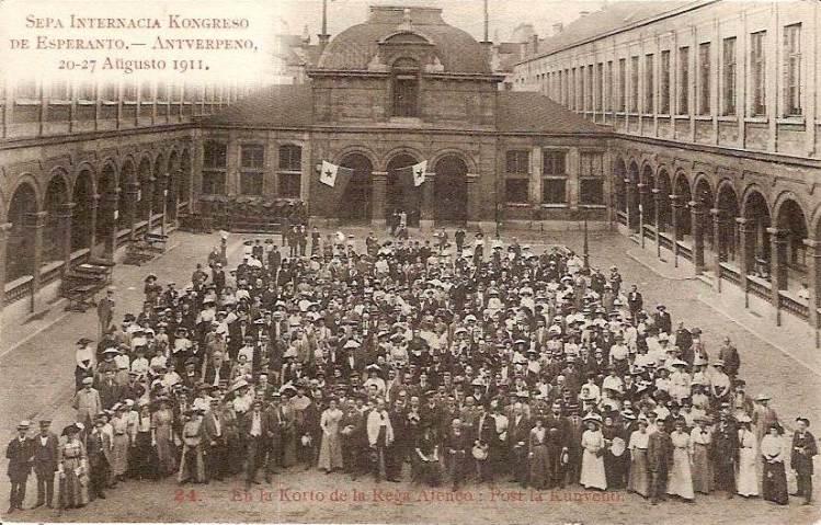 The 7th Esperanto Congress in Antwerp, August 1911