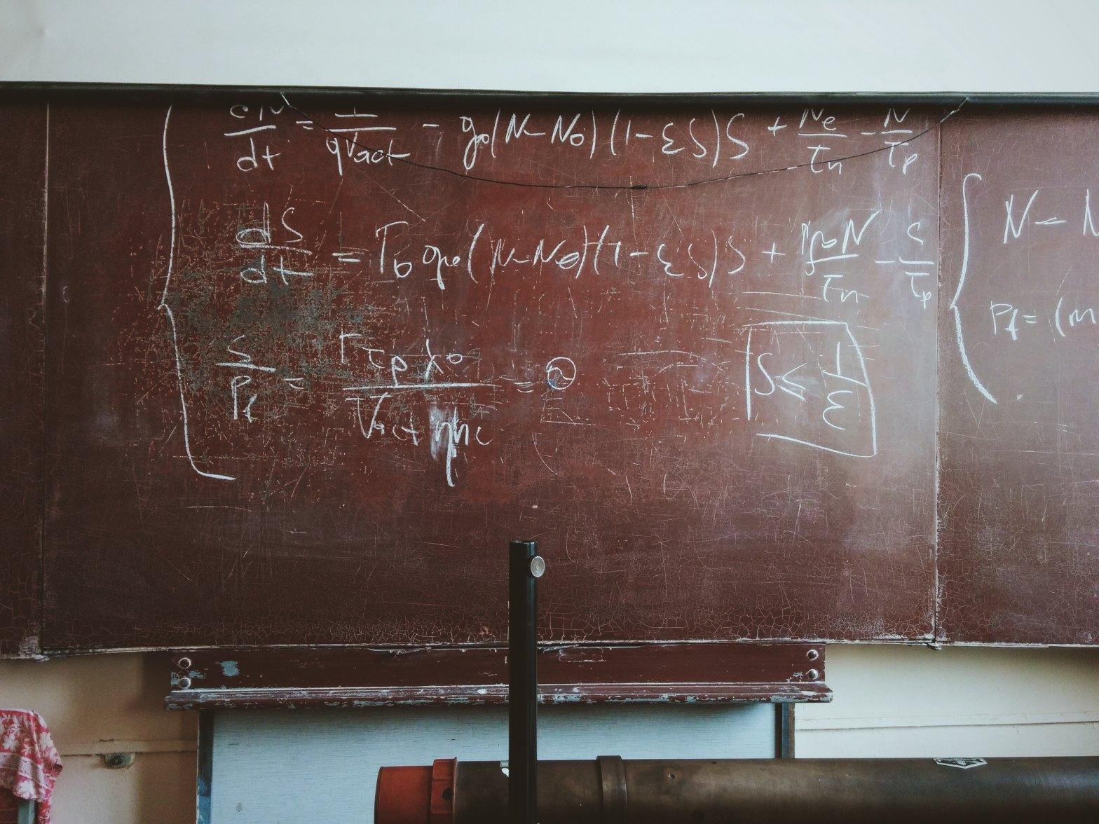 Classroom Blackboard. Photo by Roman Mager