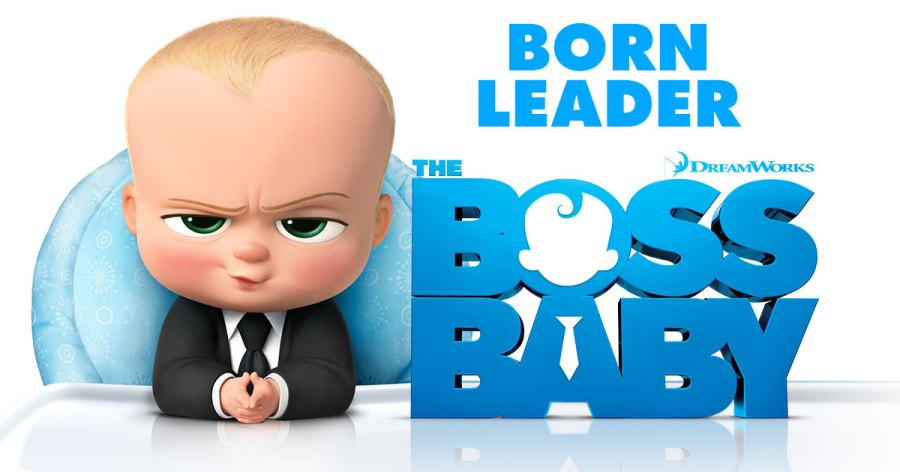 A promotional image for Boss Baby