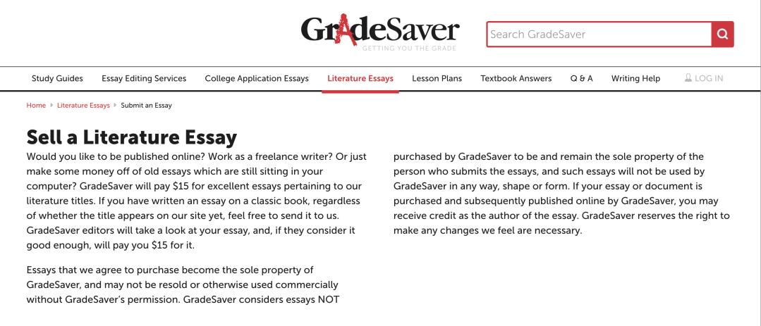 Grade Saver